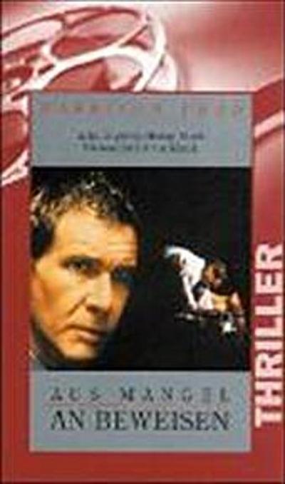 Aus Mangel an Beweisen [VHS] - Warner Home Video - Videokassette, Deutsch, Scott Turow, 122 Min., 122 Min.