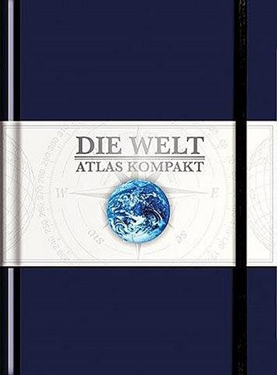 KUNTH Taschenatlas Die Welt - Atlas kompakt, blau: limitierte Edition (KUNTH Taschenatlanten)
