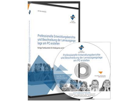 Professionelle Entwicklungsberichte und Beschreibung der Lernausgangslage am PC erstellen, 1 CD-ROM - Forum Verlag Herkert - CD-ROM, Deutsch, Petra Ahrens, ,