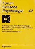 Forum Kritische Psychologie, Bd.42, Kritikbeg ...