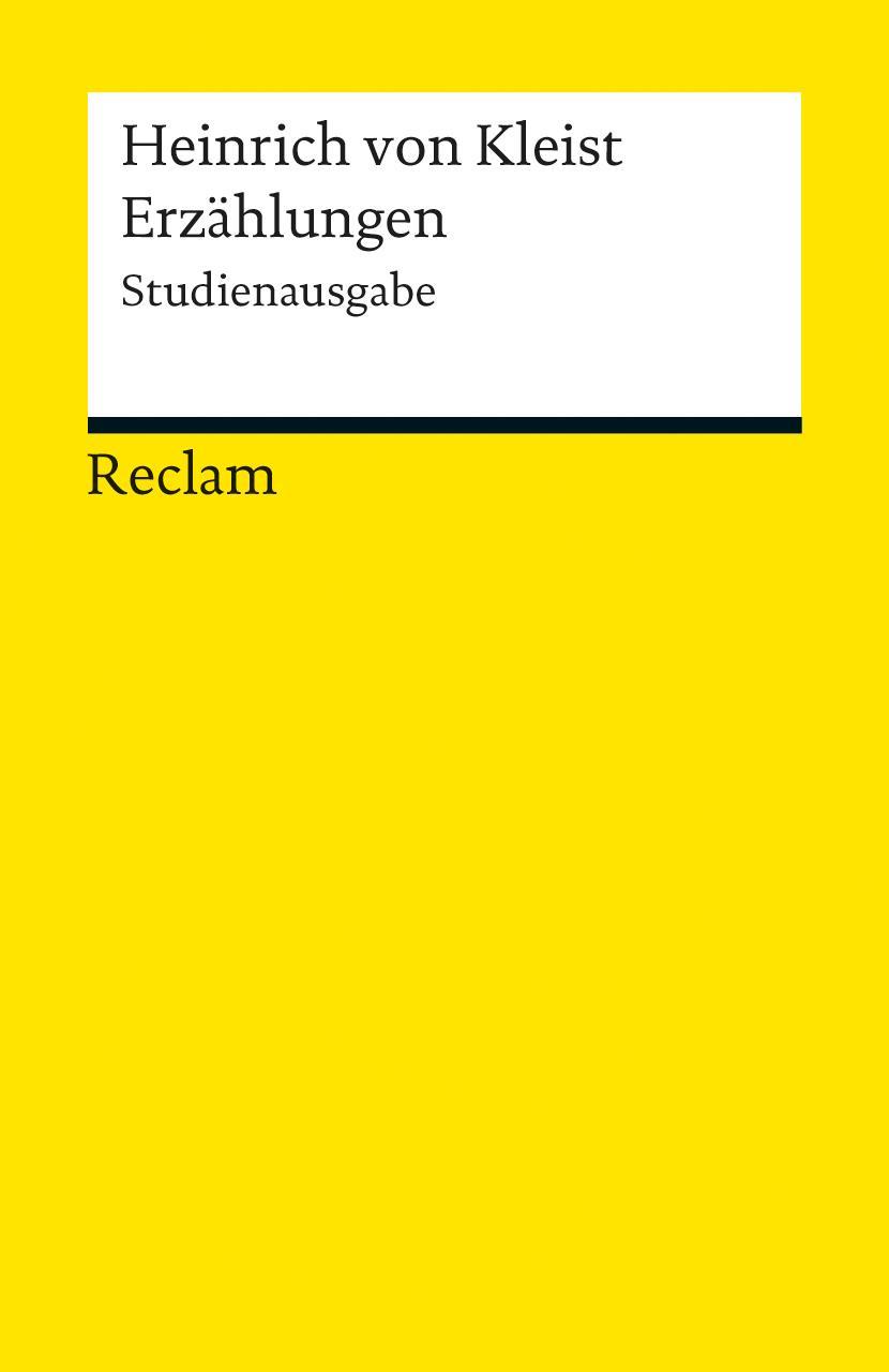 Erzaehlungen-Heinrich-von-Kleist