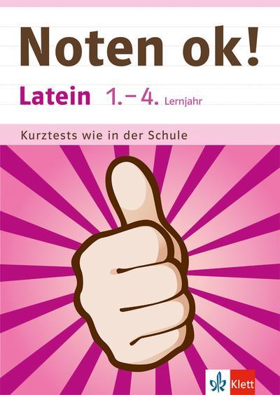 klett-noten-ok-latein-1-4-lernjahr-kurztests-wie-in-der-schule