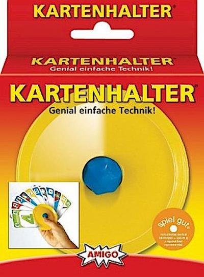 amigospiele-kartenhalter-gelb