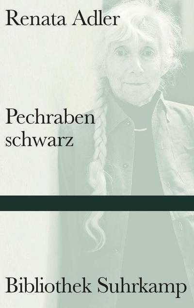 Pechrabenschwarz: Roman (Bibliothek Suhrkamp)