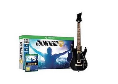 Guitar Hero Live, 1 XBox One-Blu-ray Disc + Gitarren-Controller