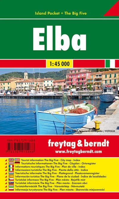 freytag-berndt-stadtplane-elba-island-pocket-the-big-five-ma-stab-1-45-000-toeristische-wegen