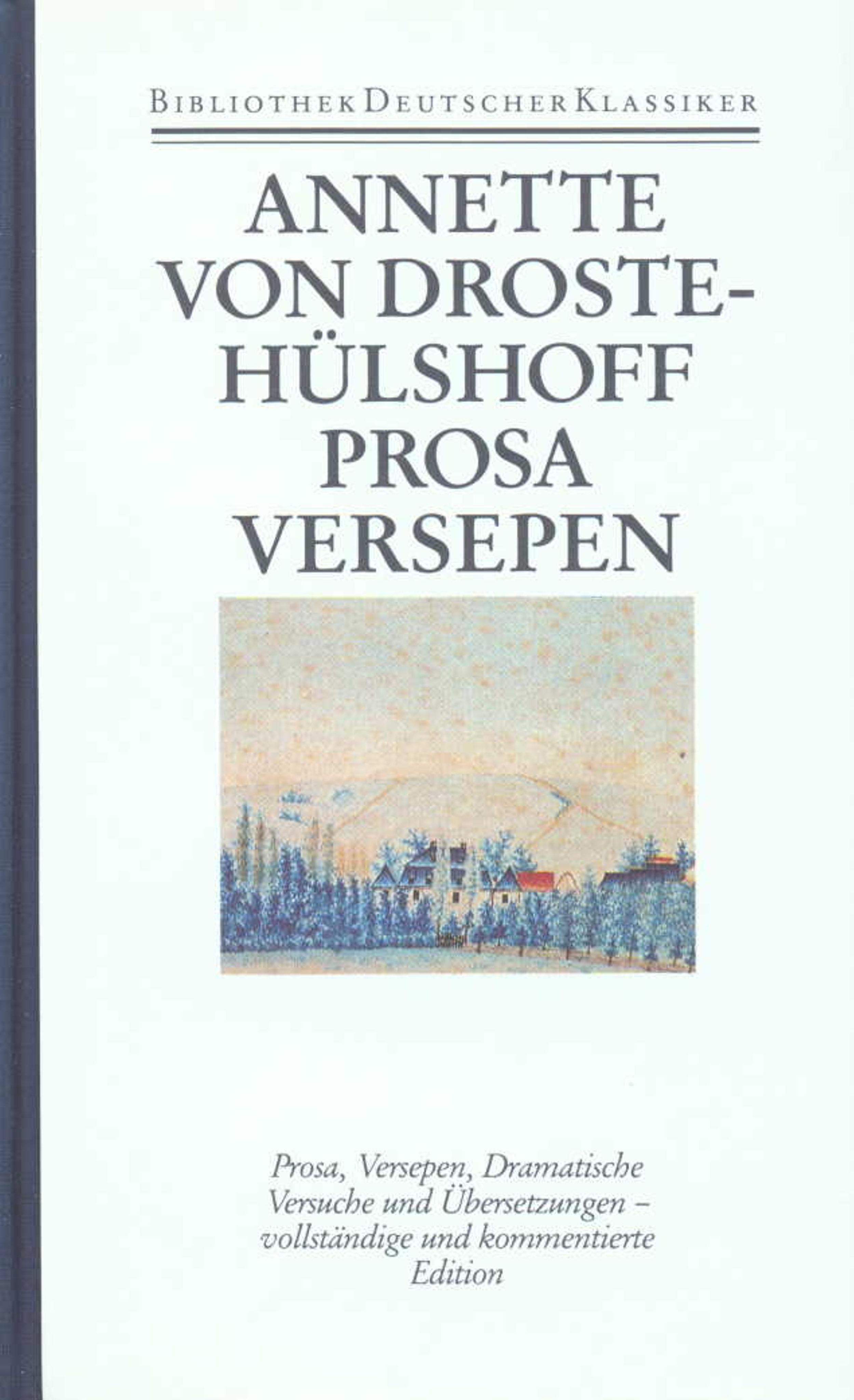 Prosa-Versepen-Dramatische-Versuche-Ubersetzungen-Annette-von-Droste-Hue