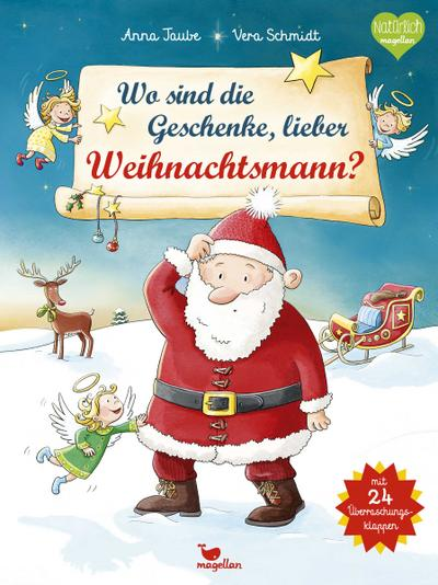 Wo sind die Geschenke, lieber Weihnachtsmann?