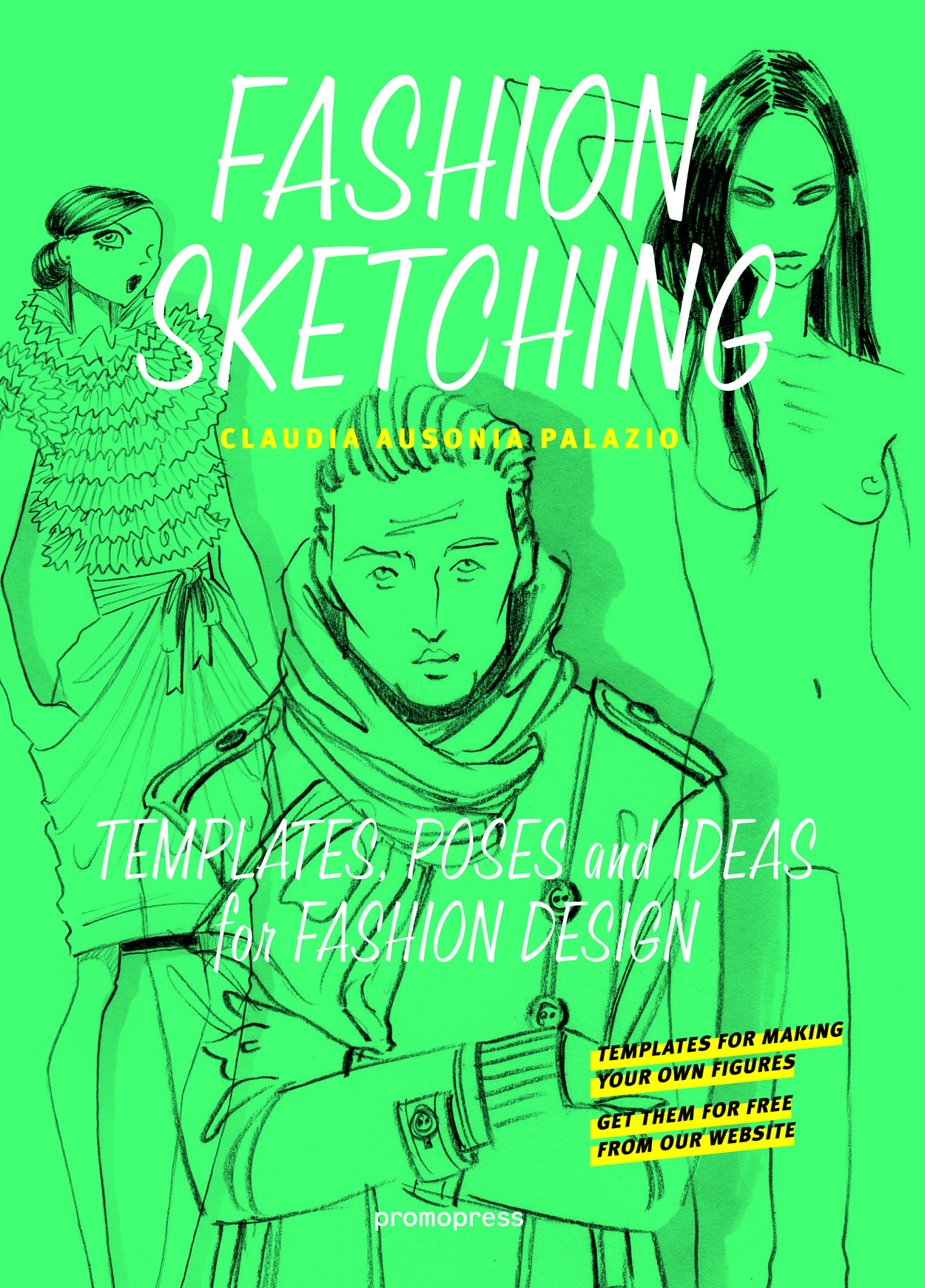 Fashion Sketching Claudia Ausonia Palazio