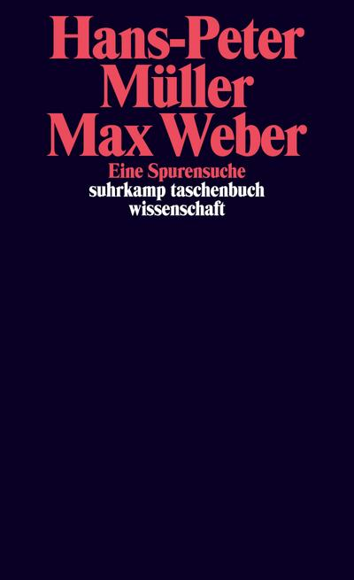 Max Weber: Eine Spurensuche (suhrkamp taschenbuch wissenschaft)