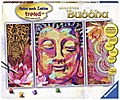 Goldener Buddha. Malen nach Zahlen Sonderseri ...