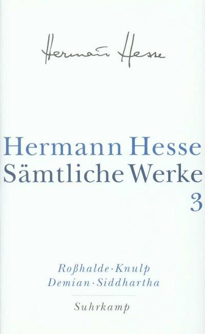Sämtliche Werke, 20 Bde., Bd.3