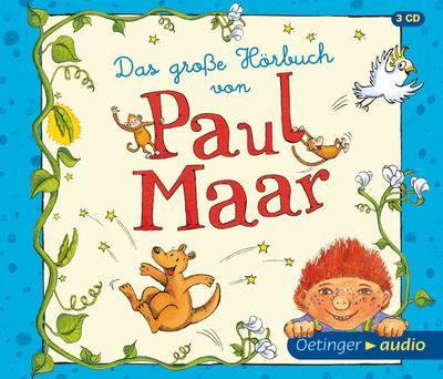 Das große Hörbuch von Paul Maar (3CD): Ungekürzte Lesung, 180 Min.