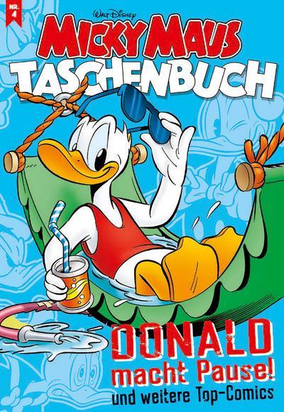 micky-maus-taschenbuch-nr-04-donald-macht-pause-und-weitere-top-comics