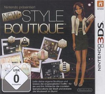 New Style Boutique - [Nintendo 3DS] - Nintendo - Videospiel, Deutsch, , ,