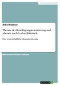 Theorie der Bewältigungsorientierung und -theorie nach Lothar Böhnisch