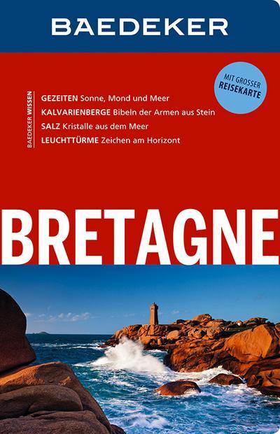 Baedeker Reiseführer Bretagne: mit GROSSER REISEKARTE