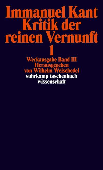 werkausgabe-in-12-banden-iii-iv-kritik-der-reinen-vernunft-suhrkamp-taschenbuch-wissenschaft-