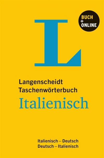 Langenscheidt Taschenwörterbuch Italienisch - Buch mit Online-Anbindung: Italienisch-Deutsch/Deutsch-Italienisch (Langenscheidt Taschenwörterbücher)
