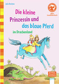 Die kleine Prinzessin und das blaue Pferd im  ...