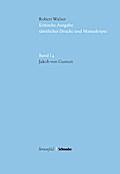 Kritische Robert-Walser-Ausgabe / Jakob von Gunten: KWA I 4