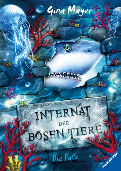 Internat der bösen Tiere, Band 2: Die Falle  HC - Internat der bösen Tiere  Ill. v. Vath, Clara  Deutsch  schw.-w. Ill.