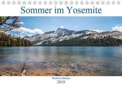 Sommer im Yosemite (Tischkalender 2019 DIN A5 quer)