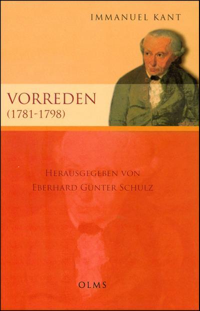 Vorreden (1781-1797)