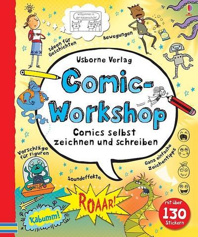 comic-workshop-comics-selbst-zeichnen-und-schreiben