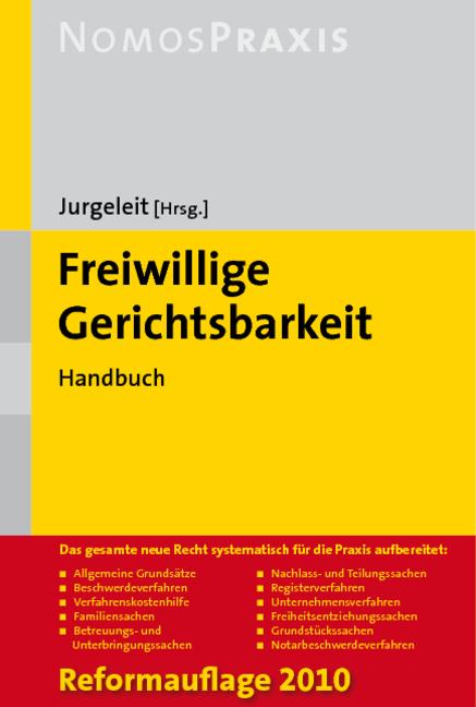 Freiwillige Gerichtsbarkeit, Andreas Jurgeleit