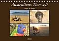 9783665731915 - Martin Wasilewski: Australiens Tierwelt - Auge in AugeAT-Version  (Tischkalender 2018 DIN A5 quer) - Reptilien, Beuteltiere und die bunte Vogelwelt von Down Under (Monatskalender, 14 Seiten ) - كتاب