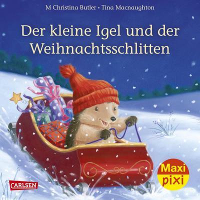 maxi-pixi-239-der-kleine-igel-und-der-weihnachtsschlitten
