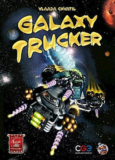 Asmodee CZ001 - Galaxy Trucker - PRLF5 - Spielzeug, Deutsch, Vlaada Chvatil, Originalspiel. Auf der Empfehlungsliste zu Spiel des Jahres 2008. Ausgezeichnet mit Spiele Hits 2008 mit Freunden, Originalspiel. Auf der Empfehlungsliste zu Spiel des Jahres 2008. Ausgezeichnet mit Spiele Hits 2008 mit Freunden