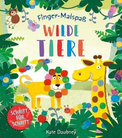 Finger-Malspaß: Wilde Tiere