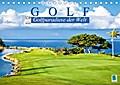 9783665894238 - k. A. CALVENDO: Golf: Golfparadiese der Welt (Tischkalender 2018 DIN A5 quer) - Wie gemalt: Golf- und Landschaftsarchitektur (Monatskalender, 14 Seiten ) - Book