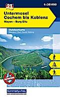 KuF Deutschland Outdoorkarte 21 Untermosel -  ...
