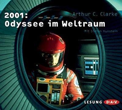 Arthur-C-Clarke-2001-Odyssee-im-Weltraum-5-Audio-CDs-9783898137607