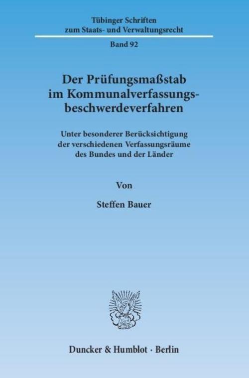 Der-Pruefungsmassstab-im-Kommunalverfassungsbeschwerdeverfahren-Steffen-Bauer