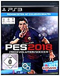 PES 2018, Pro Evolution Soccer, PS3-Blu-ray Disc (Premium Edition)