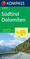 Südtirol - Dolomiten / Alto Adige - Dolomiti  1 : 150 000