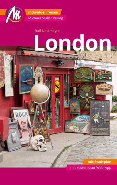 London MM-City Reiseführer Michael Müller Verlag  Individuell reisen mit vielen praktischen Tipps und Web-App mmtravel.com  MM City  Deutsch  153 farb. Fotos
