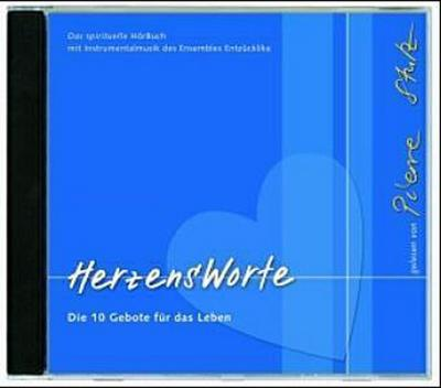 HerzensWorte - Das Hörbuch: Die 10 Gebote für das Leben - Katholisches Bibelwerk - Audio CD, Deutsch, Pierre Stutz, Die 10 Gebote für das Leben. Gelesen vom Autor, Die 10 Gebote für das Leben. Gelesen vom Autor