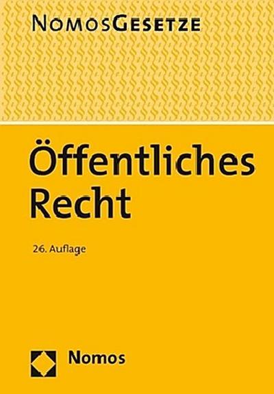 offentliches-recht-textsammlung-rechtsstand-23-august-2017