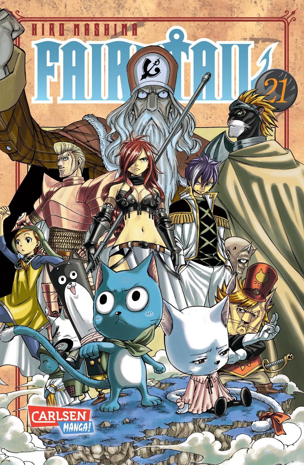 NEU Fairy Tail 21 Hiro Mashima 796318