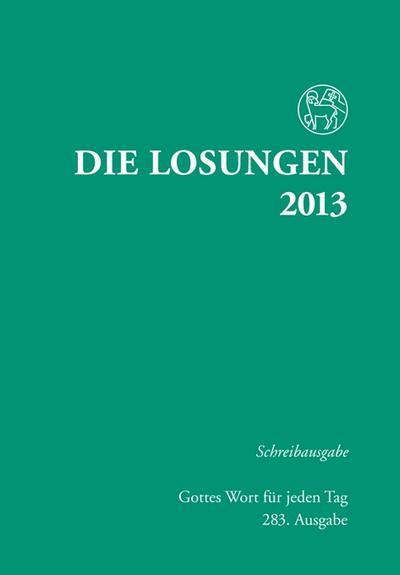 die-losungen-2013-deutschland-die-losungen-2013-schreibausgabe