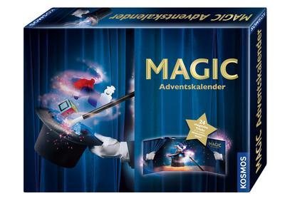 Kosmos Zauberei 698850 Magic Adventskalender 2018, bunt - KOSMOS - Spielzeug, Deutsch, , 24 magische Tricks bis zur großen Weihnachtsshow, 24 magische Tricks bis zur großen Weihnachtsshow