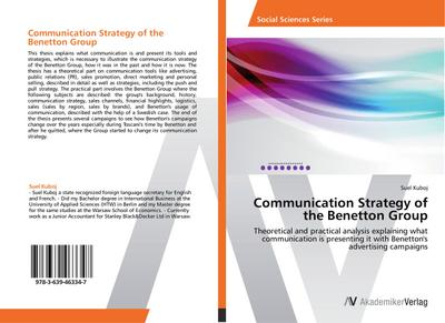 Communication Strategy of the Benetton Group