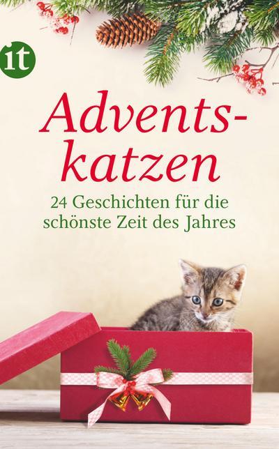 Adventskatzen: 24 Geschichten für die schönste Zeit des Jahres (insel taschenbuch)