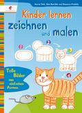 Kinder lernen zeichnen und malen; Deutsch; du ...