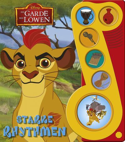 Disney Die Garde der Löwen, Starke Rhythmen - Liederbuch mit Sound: Disney Pappbilderbuch mit 6 Melodien - Buch zum Film - Phoenix International Publications Germany Gmbh - Pappbilderbuch, Deutsch, Phoenix International Publications (pikids),Disney, ,